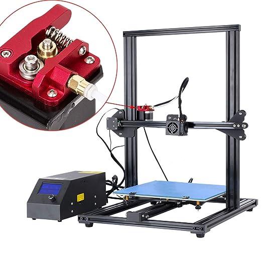 LUTER Aluminio Impresora 3D MK-8 Kit de unidad de alimentación del ...
