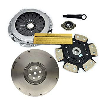 valeo-stage 3 Embrague de disco de cerámica Kit + Volante para Hyundai Tiburon Elantra