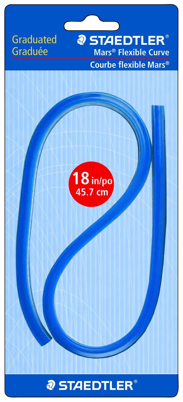 Staedtler Flexible Curve, 18'', Black 3T (97160-18BK03) 18'' Staedtler Inc.
