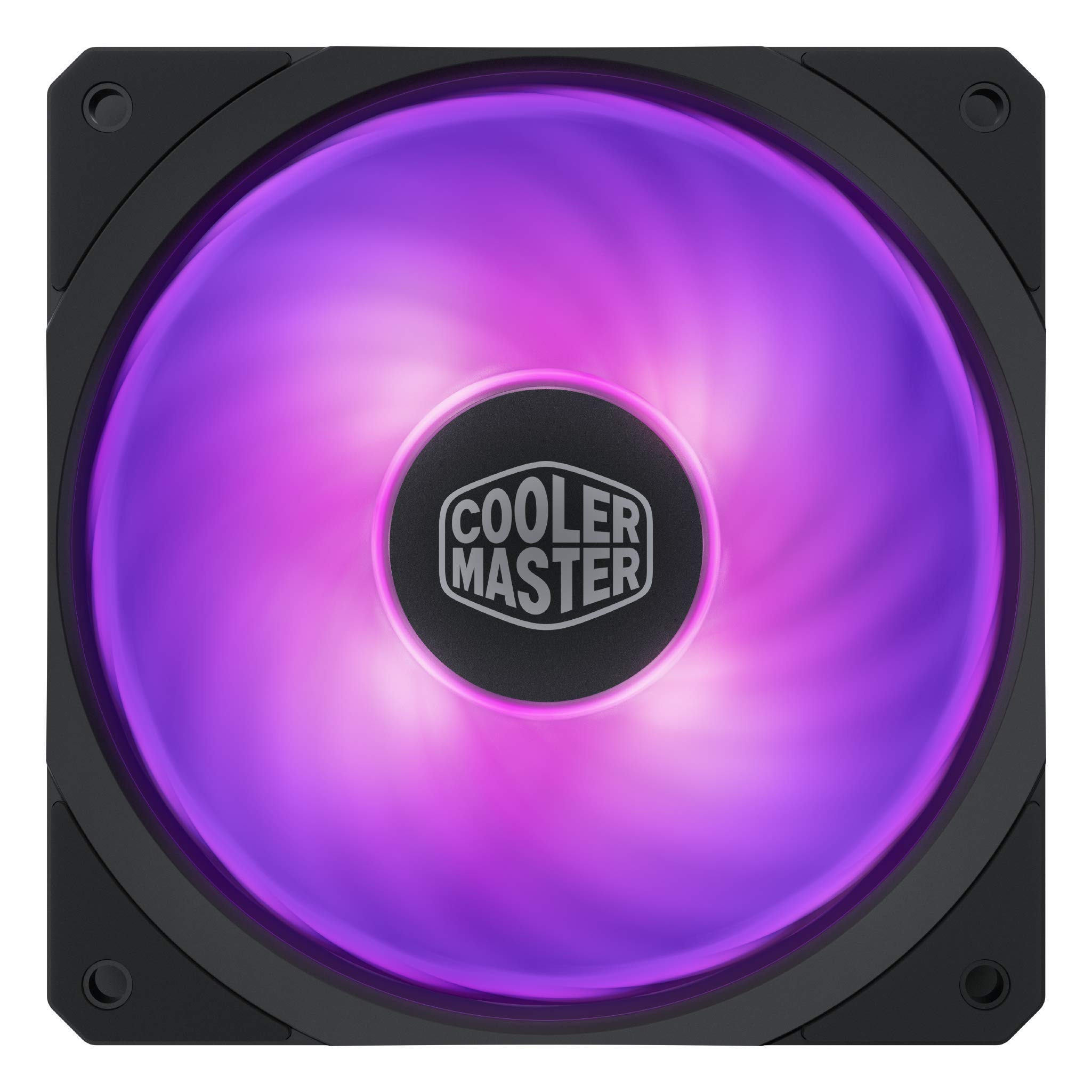 Cooler Master Masterfan Sf120r Rgb 120mm Square Frame Fan...