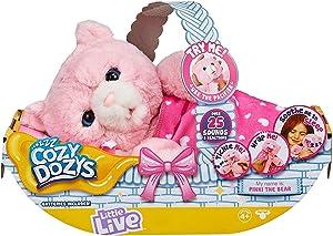 Little Live Pets Cozy Dozy Pinki The Bear
