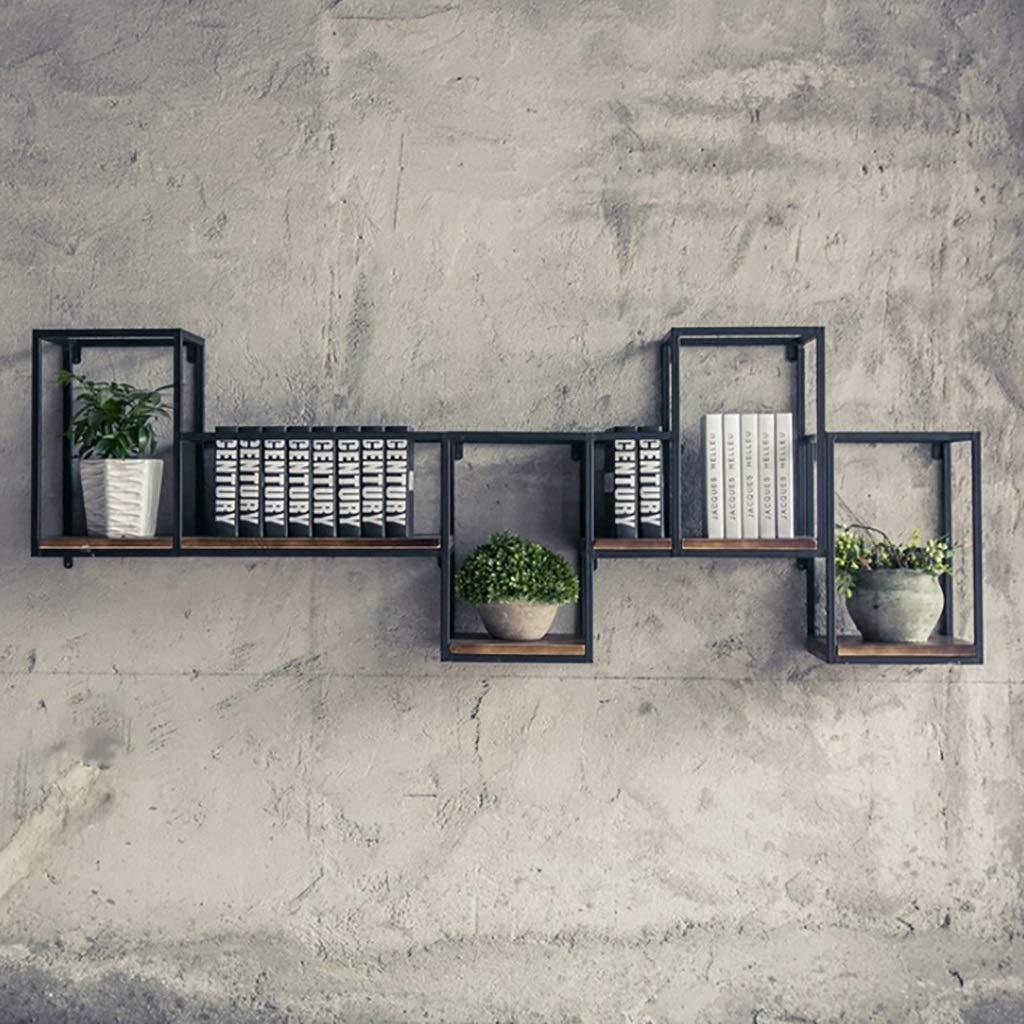 ウォールシェルフ ウォールラック 壁棚書棚木材2 3段フローティングブック収納吊りラックオーガナイザーユニットラッキング棚/輸入松、リビングルームキッチン壁収納ラック (サイズ さいず : 169*30*60cm) B07RY2SBKX  169*30*60cm