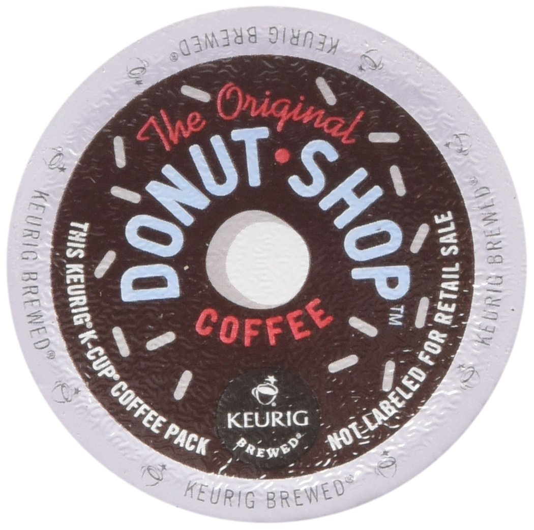 Coffee People Donut Shop Medium Roast Extra Bold, 18-Count/0.39oz. K-Cups for Keurig Brewers
