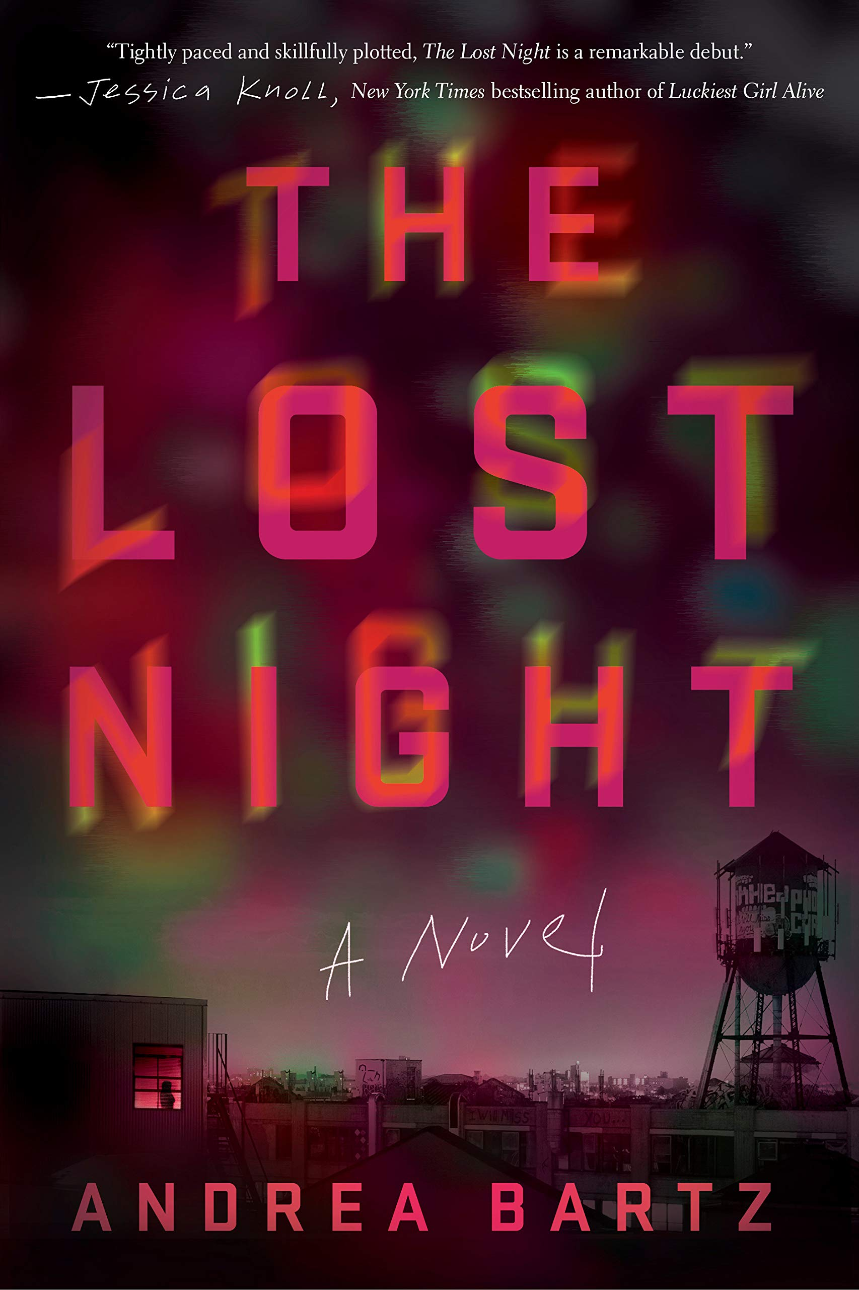 Image result for The Lost Night by Andrea Bartz