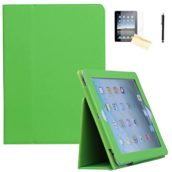 Apple iPad AIR 2 Smart Folio Case Green Or Lavender W Integrated Stand