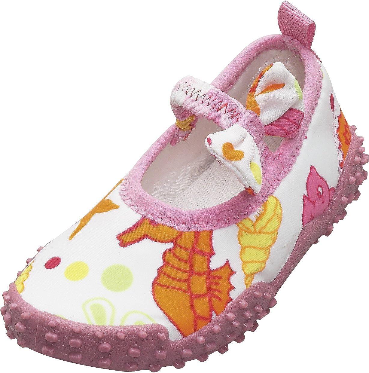 NOUVEAU Alors la jeunesse de jeune fille maillot de bain réglable Sport Sandales Rose #68644 170 C TZ
