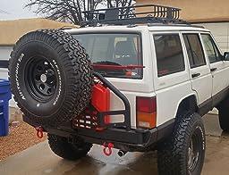 Amazon.com: Smittybilt 76851 XRC Rear Bumper/Tire Carrier