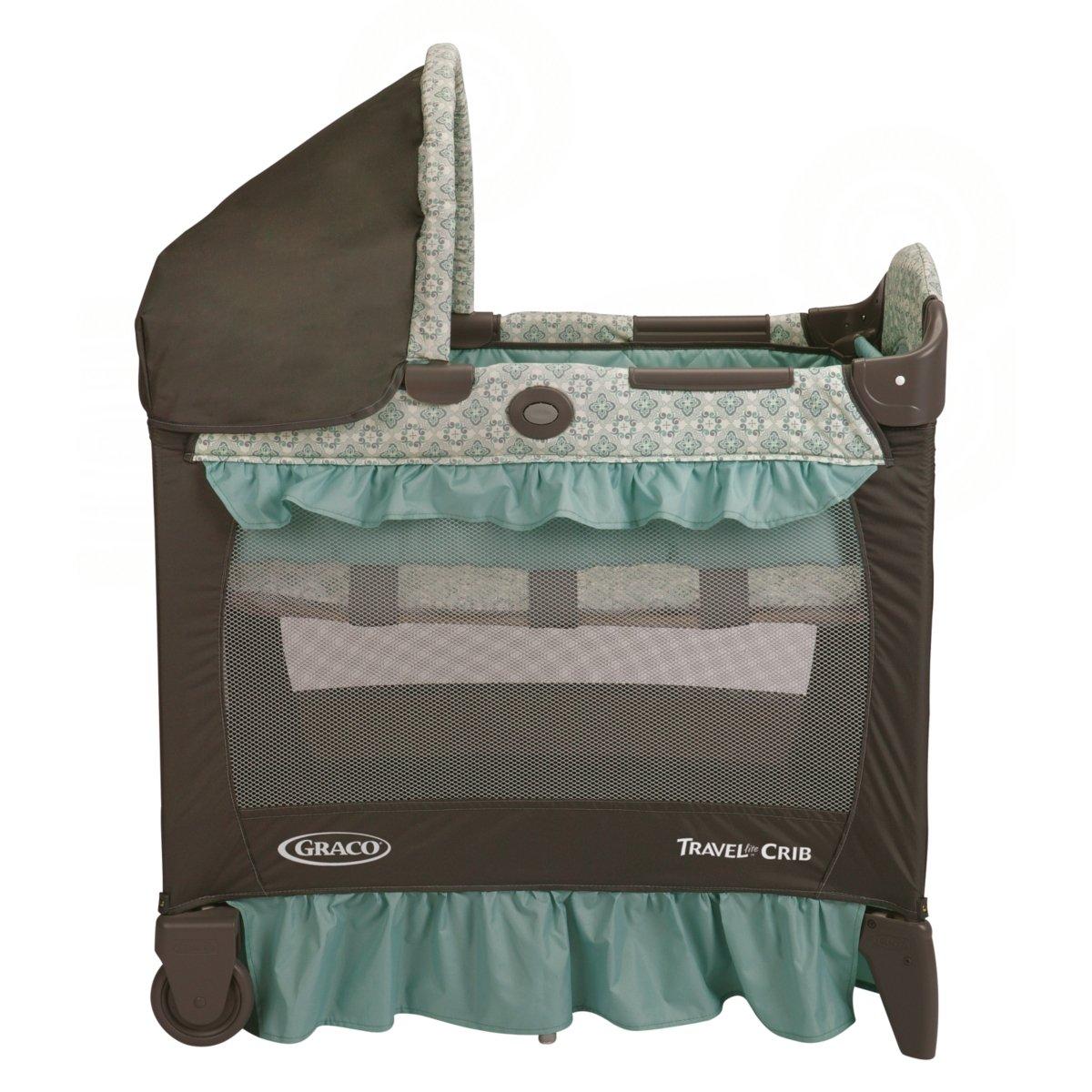 graco bedroom bassinet portable crib. amazon.com : graco pack \u0027n play travel lite crib playard, winslet bassinet baby bedroom portable r