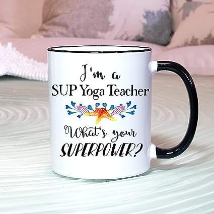Amazon.com: Boyce22Par Sup Yoga Teacher Gift Sup Yoga ...