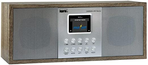 Imperial 22 132 00 Dabman D 30 Digitalradio Stereo Sound Dab Dab Ukw Aux In Line Out Kopfhörer Ausgang Inkl Netzteil Braun Vintage Heimkino Tv Video