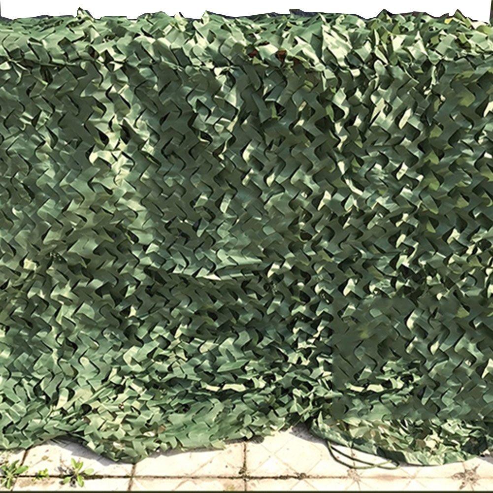 CAOYU Shade Net, Atmungsaktive Outdoor-Schatten Sun Isolierung Blumen Tarnnetz Tarnung Schutznetz Anti Luft Tarnnetz