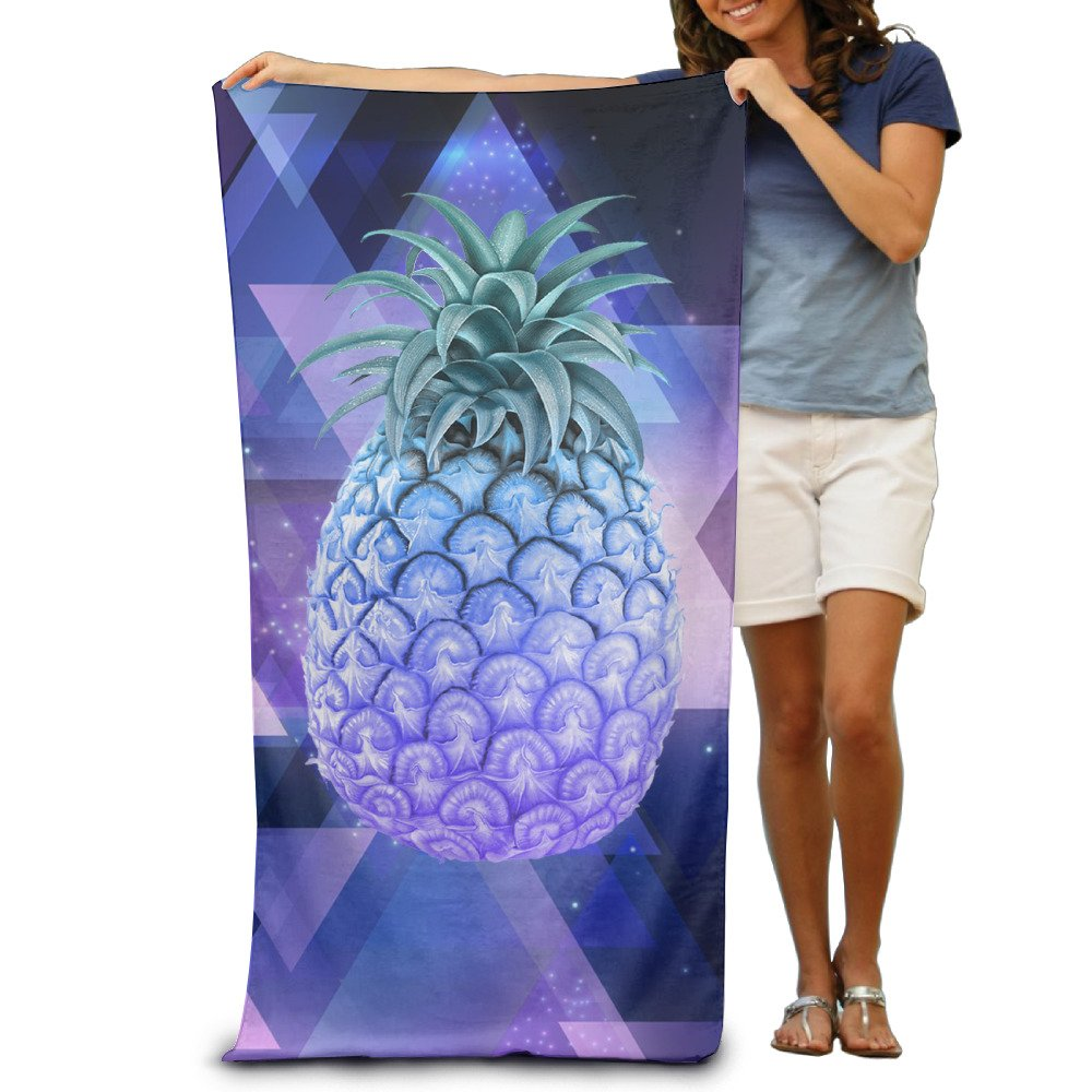 Purple Pineapple Adults Bath Towels 80x130 Inches Execty