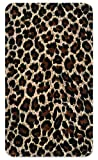 Amped Art 5000mAh Portable Charger Compact External Battery Power Pack Power Bank with Smart LED Display and Smart Charge for iPhone 7, 6, 6S, Plus, iPad, Samsung Galaxy, Tablets - Leopard Print