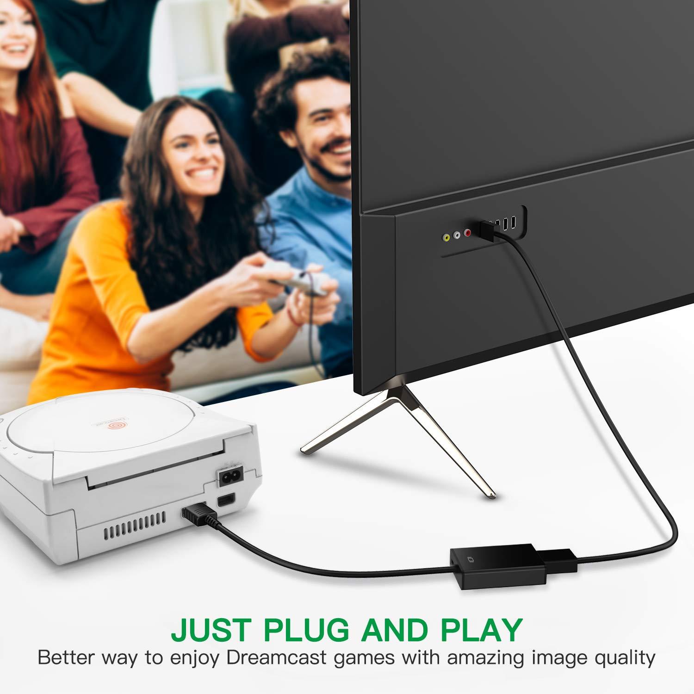 HDMI Link Cable for Sega Dreamcast , No-Mods Required HDMI Converter for Sega Dreamcast by Auron (Image #2)