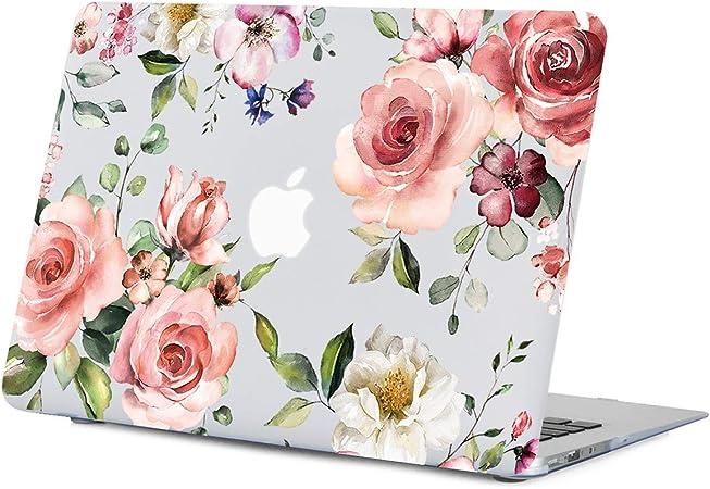 Roses Macbook 16 Inch Case Floral Pro 2014 Macbook Air 13 Inch Case Hardshell Macbook Pro 13 Inch Case 15 Macbook Pro Case 2019   CM1643