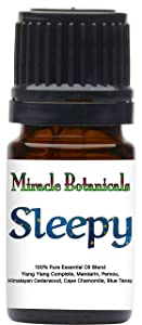 Miracle Botanicals Sleepy Essential Oil Blend - 100% Pure Therapeutic Grade Essential Oils - 5ml