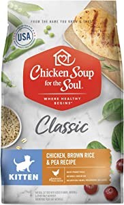 Chicken Soup for the Soul Dry Kitten Food- Chicken, Brown Rice, & Pea Recipe