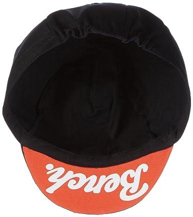 6a19e61688c335 Bench Men's Cycle Cap Flat (Black Beauty BK11179), One Size: Amazon.co.uk:  Clothing