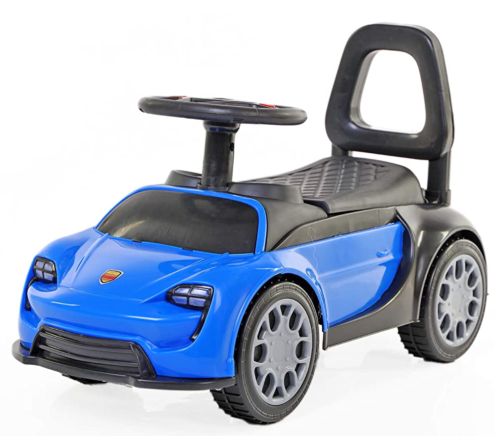 Toy House Porsche Mission E Push Car for Kids (1 to 3 YRS ), Blue