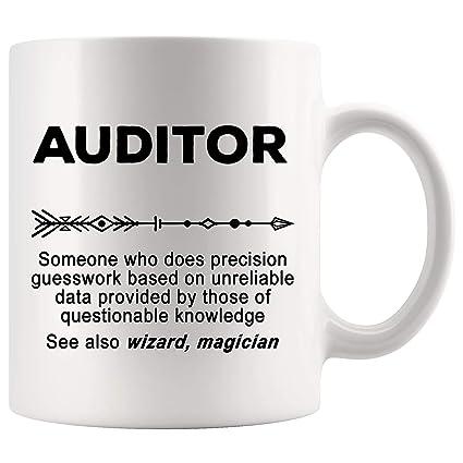 Amazon.com: Auditor Mug Coffee Joke Gag Cup - Definition ...