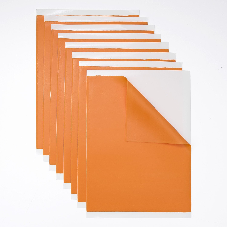Lucks Food Decorating Company Solid Lt Orange Fondant Sheets