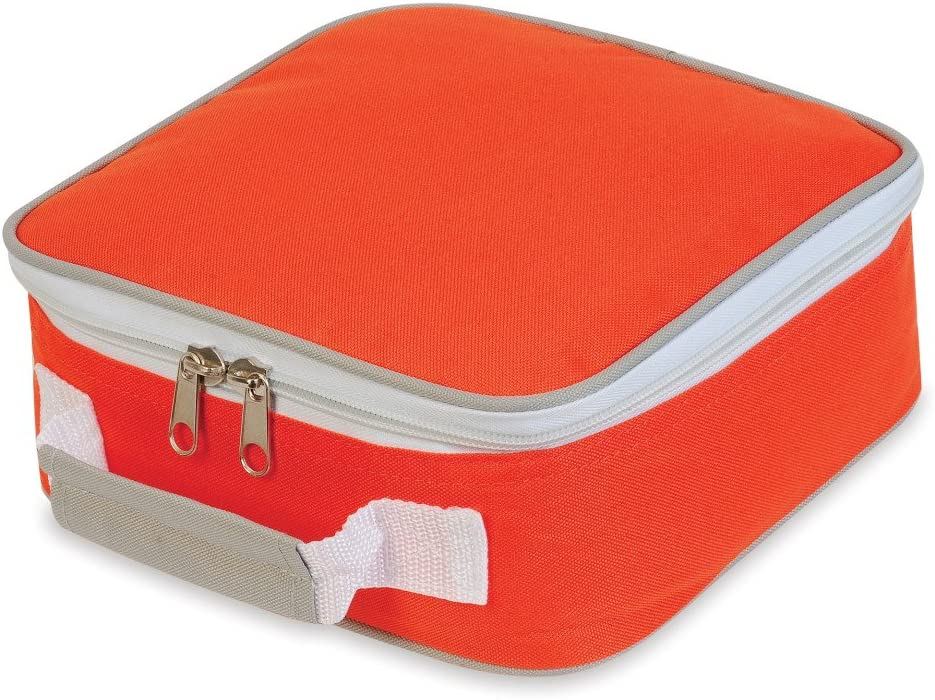 SWO Sandwich Lunchbox Cooler Bag SH1808 Black Light Grey, O//S