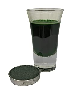 Snowy River Holly Green Beverage Coloring - Kosher All Natural Holly Green Drink Coloring and Food Color (5g Drink Color)