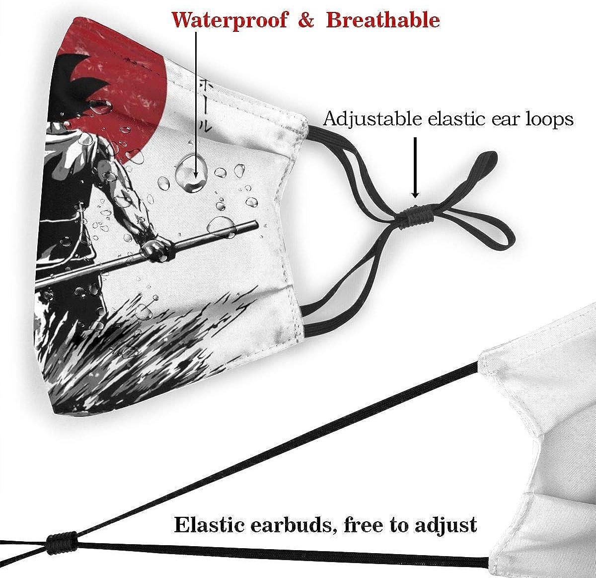Dragon Ball Z Pure of Heart Warrior Unisex Gesichtsmaske waschbar Staubmaske mit Filter austauschbar