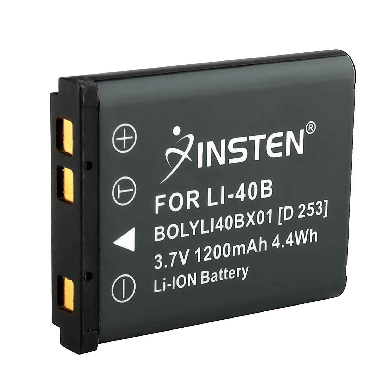 INSTEN en-el10リチウムイオンバッテリー交換と互換性Nikon Coolpix s600、s520 & s210   B0188GE0JY