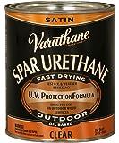 Rust-Oleum 242183H Spar Urethane, 1-Quart, Satin Finish
