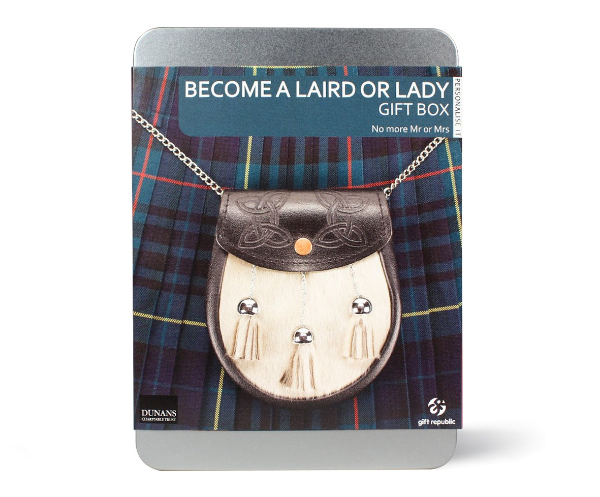 Amazon.com Gift Republic Become a Laird or Lady Gift Box Home u0026 Kitchen  sc 1 st  Amazon.com & Amazon.com: Gift Republic: Become a Laird or Lady Gift Box: Home ... Aboutintivar.Com