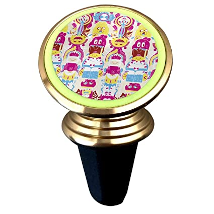 free shipping 8367e 071bf Happy Index Cartoon Adventure Time 360° Rotation Air Vent Magnetic Car  Mount Cell Phone Holder
