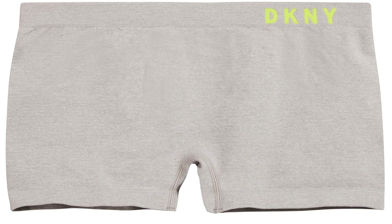 4 Pack DKNY Girls Nylon//Spandex Seamless Boyshort Hipster Panties