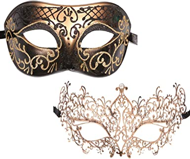 New Ball Silver//Gold Party Newest Antique Gras Venetian Masquerade Mardi