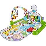 Fisher-Price Palestra Pianoforte pataditas superaprendizaje, Coperta di Gioco Bambino (Mattel fwt12)