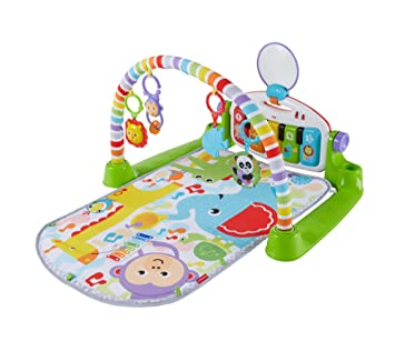 c4311219d Fisher-Price - Gymnase Bébé Piano pataditas Superaprendizaje, Multicolore  (Mattel FWT12)