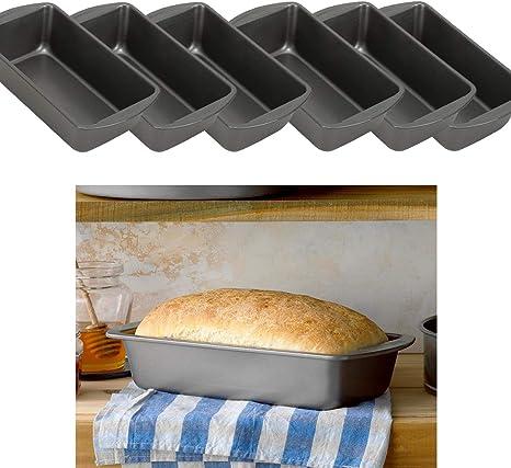 Wilton Perfect Results - Sartén antiadherente grande para pan, 9.25 x 5.25 pulgadas, color plateado