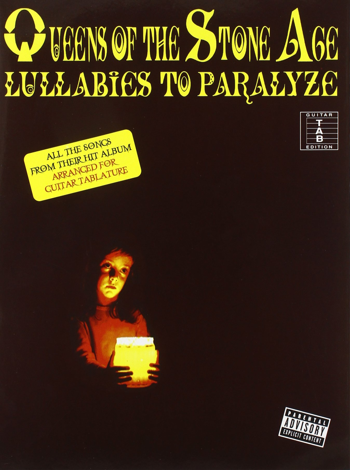 Queens of the Stone Age, Guitar Tab Edition: Lullabies to Paralyze ...