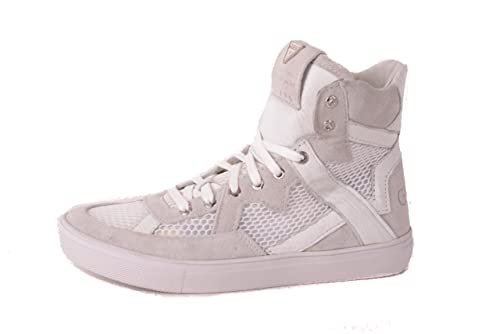 Guess Zapatillas Para Mujer con Cordones Blancas: Amazon.es: Zapatos y complementos