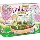 My Fairy Garden Tomy Spielzeugset - Magischer Einhorn-Garten für Kinder ab 4 Jahre Zum Selber Pflanzen & Spielen, 1 x Set Einhorn Garten inkl. Grassamen