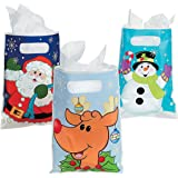 """Christmas Party Favor 9"""" Bags (Pack of 36) - Christmas Party Supplies"""