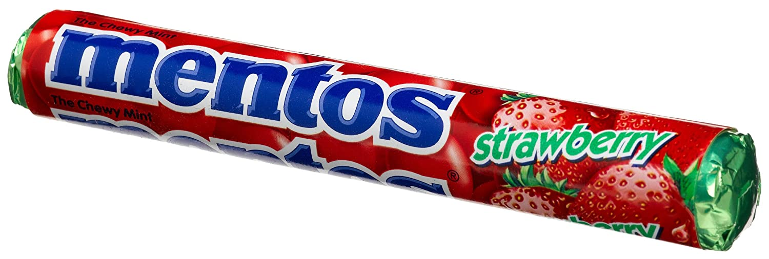 Image result for strawberry mentos