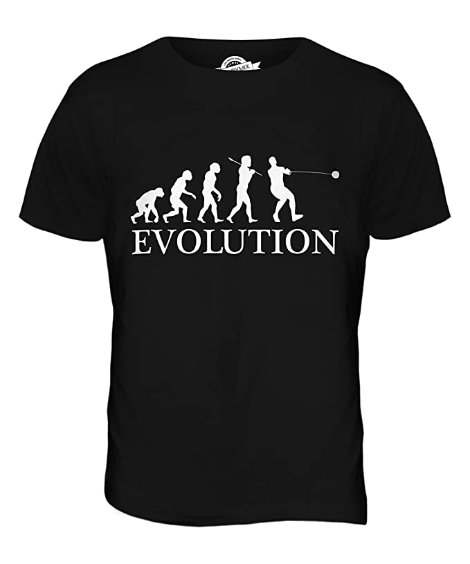Mens - Mens T-Shirt Hammer Throw Evolution T-Shirt