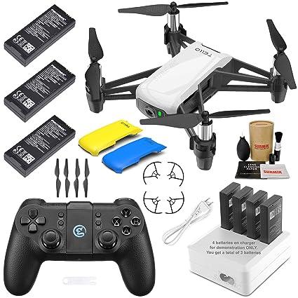 Amazon.com: Tello Drone Quadcopter Elite Max Combo con 3 ...