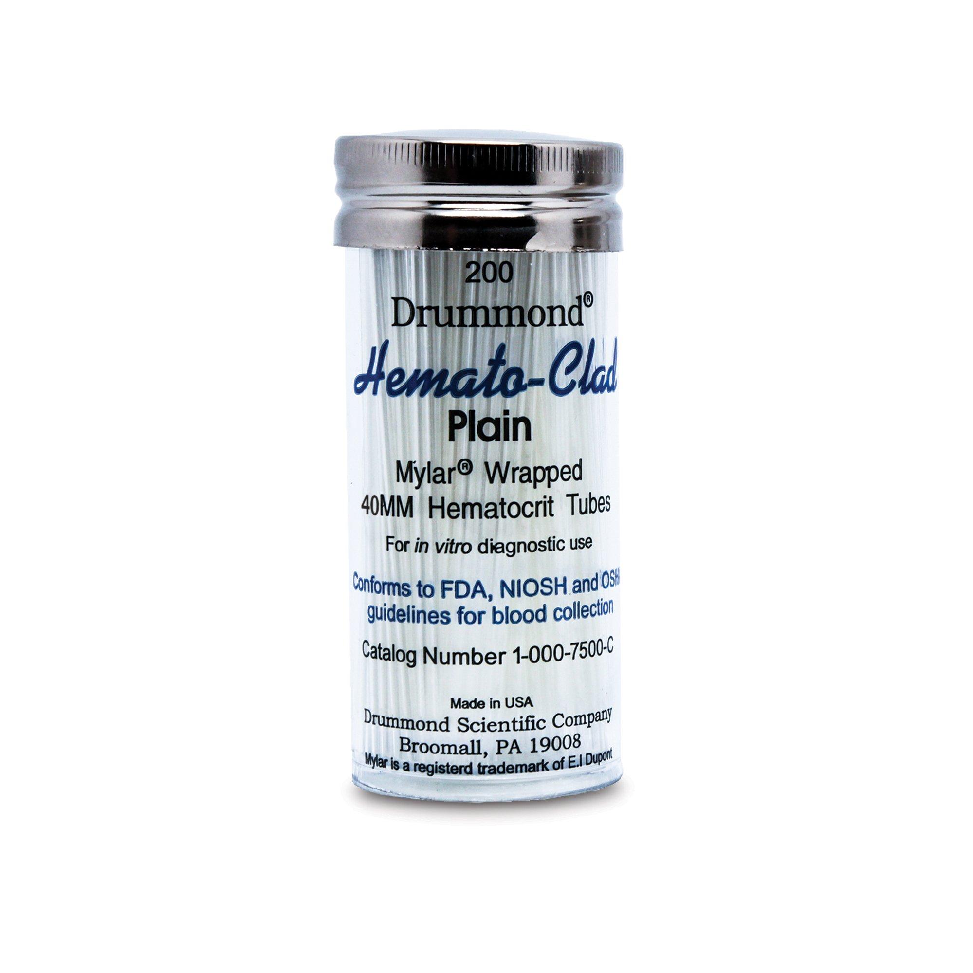 Plain Glass 40mm Hematocrit Tubes
