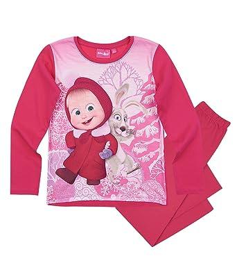 8f27cec3dd667 Masha et Michka Fille Pyjama - fushia - 8 ans: Amazon.fr: Vêtements ...