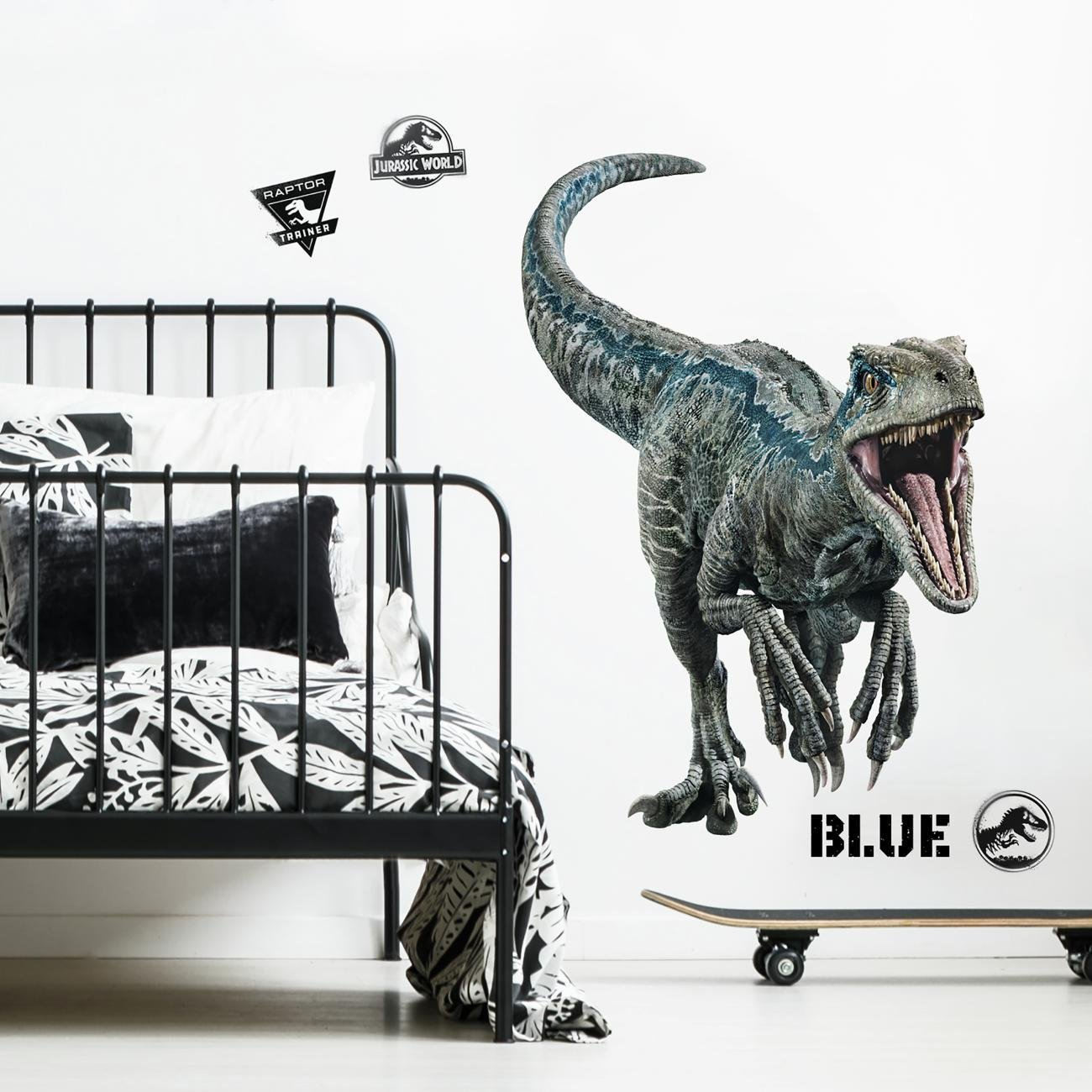 RoomMates Jurassic World: Fallen Kingdom Velociraptor Giant Peel and Stick Wall Decals by RoomMates (Image #3)