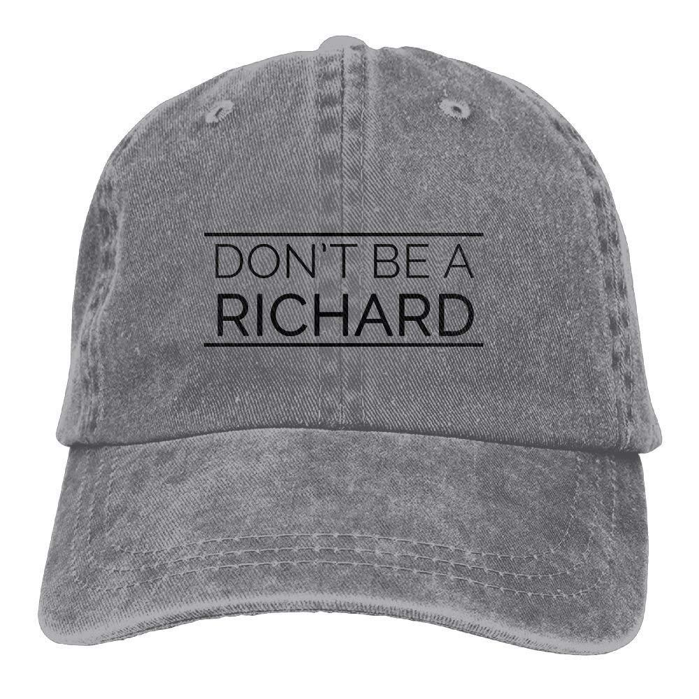bowlife Richard Unisex Denim Baseball Cap Adjustable Snapback Hats