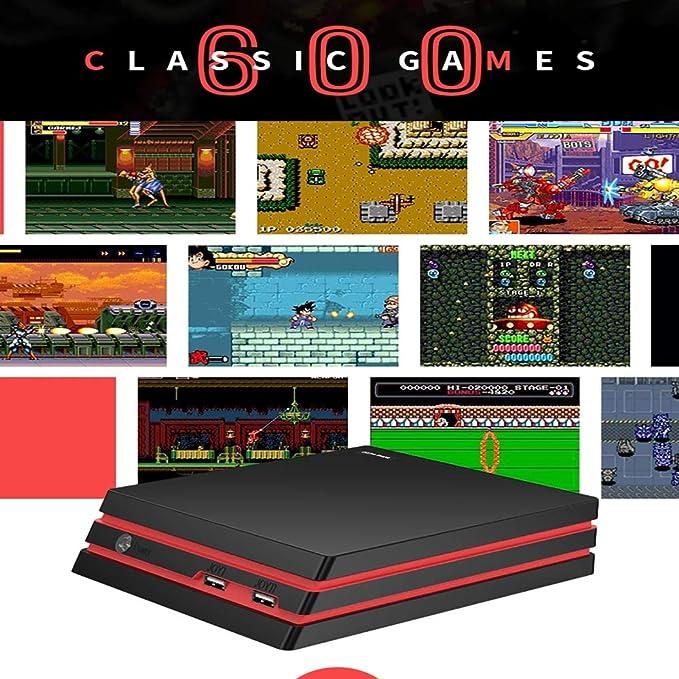 ALRY Consola De Videojuegos con 2.4G Gamepads Inalámbricos ...