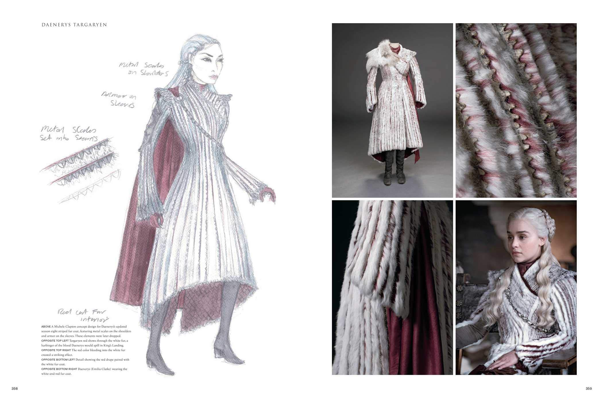 Amazon Com Game Of Thrones The Costumes The Official Book From Season 1 To Season 8 9781683835301 Clapton Michele Mcintyre Gina Benioff David Weiss D B Books